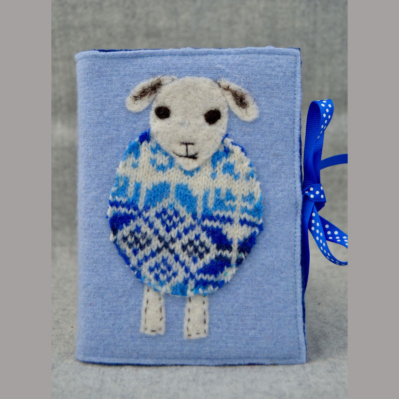Woolly Jumper Journal (blue)