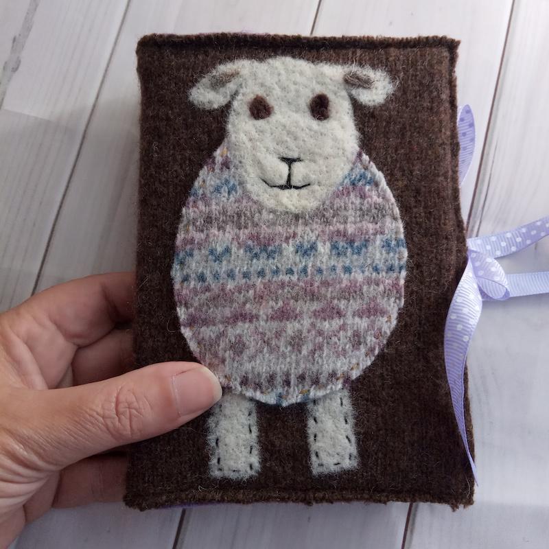 Woolly Jumper Journal (brown)