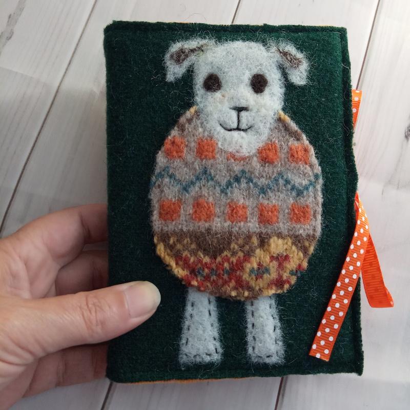 Woolly Jumper Journal (green)
