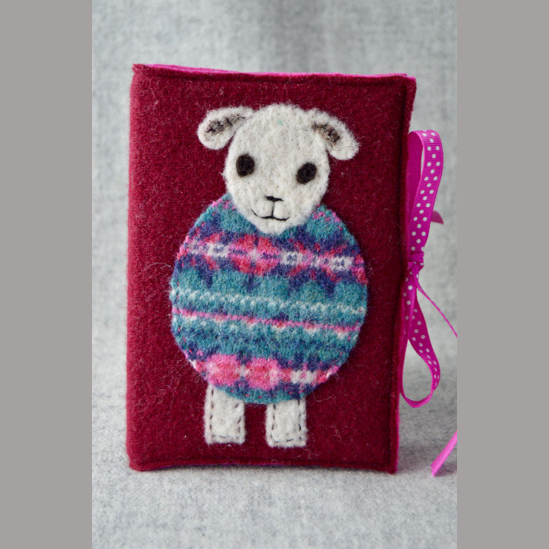 Woolly Jumper Journal (magenta)